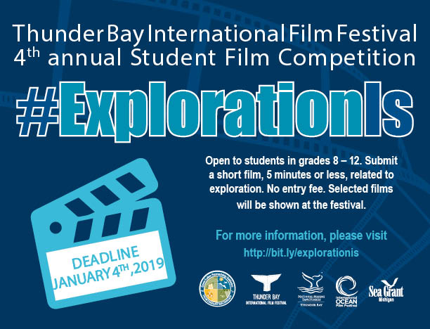 Winners Announced for the 4th Annual Student Film Competition at the Thunder Bay International Film Festival
